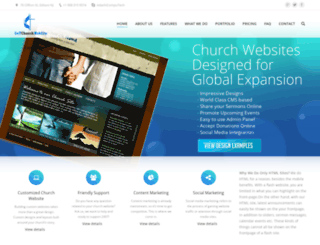 getchurchwebsite.com screenshot