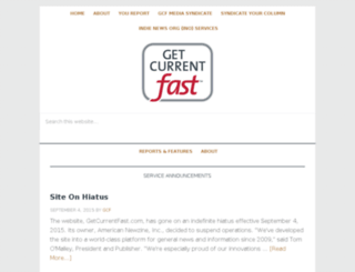 getcurrentfast.com screenshot