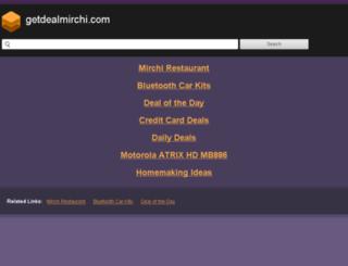 getdealmirchi.com screenshot