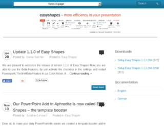 geteasyshapes.com screenshot