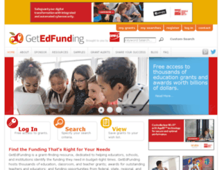 getedfunding.com screenshot