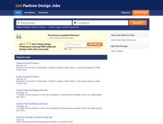 getfashiondesignjobs.com screenshot