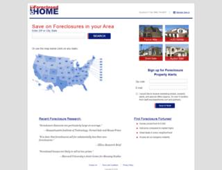 getforeclosedhome.com screenshot