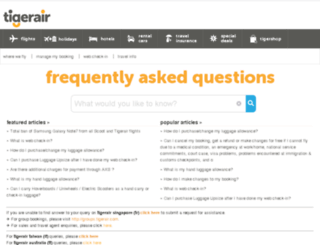gethelp.tigerair.com screenshot