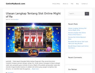 getinmyband.com screenshot
