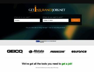 getinsurancejobs.net screenshot