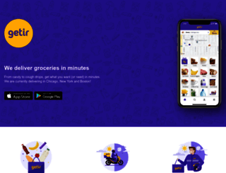 getir.com screenshot