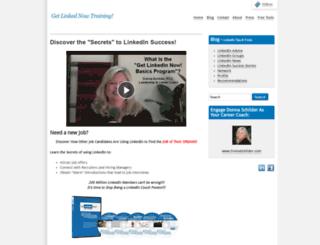 getlinkedinnow.com screenshot