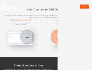 getluma.com screenshot