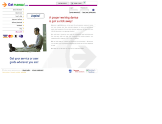 getmanual.com screenshot