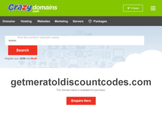getmeratoldiscountcodes.com screenshot