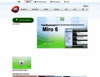 getmiro.com screenshot