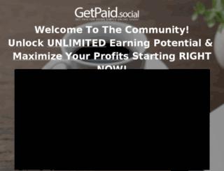getpaidsocial.instapage.com screenshot
