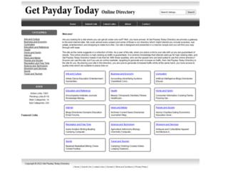 getpaydaytoday.com screenshot