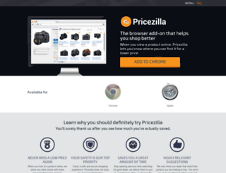 getpricezilla.com screenshot