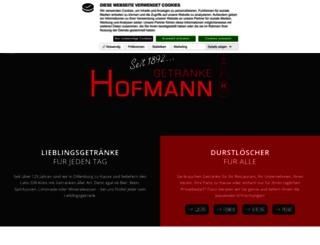 getraenke-hofmann.de screenshot