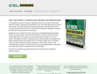 getrichwithdividends.com screenshot