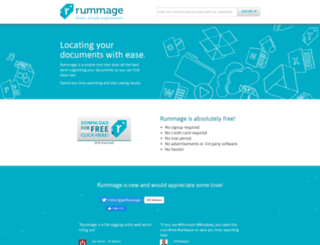 getrummage.com screenshot