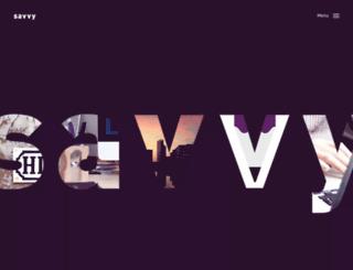 getsavvy.com screenshot