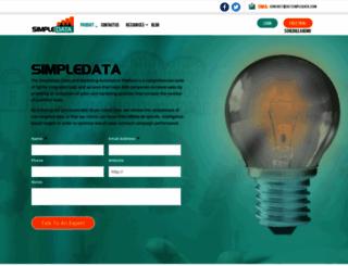 getsimpledata.com screenshot
