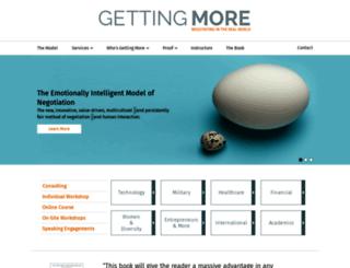 gettingmore.com screenshot