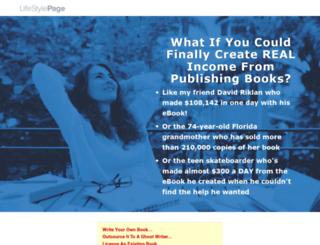 gettingrichwithebooks.com screenshot