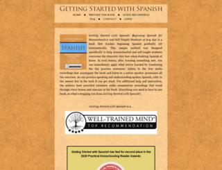gettingstartedwithspanish.com screenshot