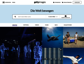 gettyimages.ch screenshot