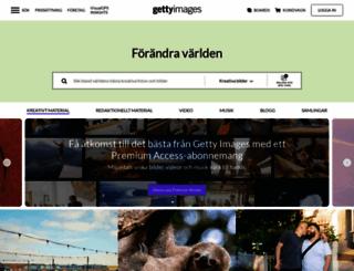 gettyimages.se screenshot