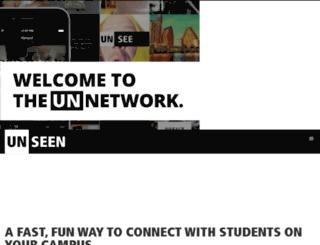 getunseen.com screenshot