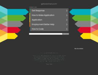 getwatchers.com screenshot