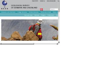 geus.net screenshot