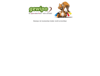 gewipo.com screenshot