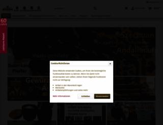 gewuerze.net screenshot