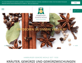 gewuerzmuehle.com screenshot