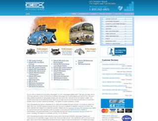 gex.com screenshot