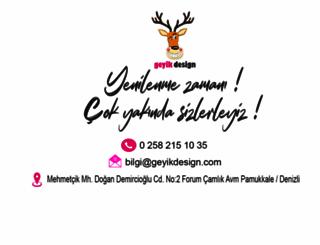geyikdesign.com screenshot