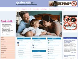 gezinsklik.nl screenshot