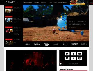 gfinity.net screenshot