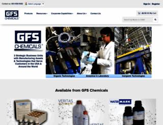 gfschemicals.com screenshot