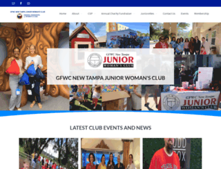 gfwcnewtampajuniors.org screenshot