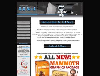 gfx-1.com screenshot