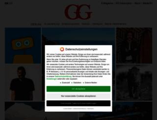 gg-magazine.com screenshot