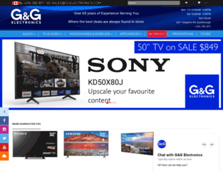 ggelectronics.com screenshot