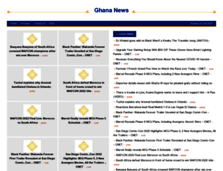 ghana.shafaqna.com screenshot