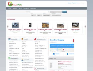 ghanads.com screenshot