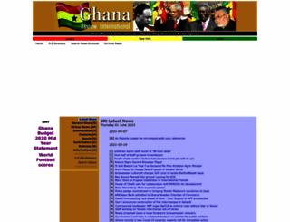 ghanareview.com screenshot
