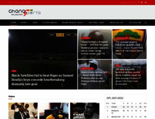 ghanasportsonline.com screenshot