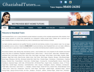 ghaziabadtutors.com screenshot