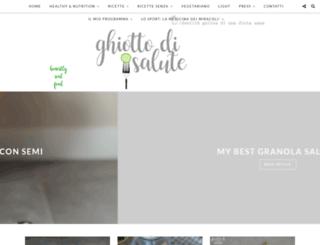 ghiottodisalute.blogspot.it screenshot